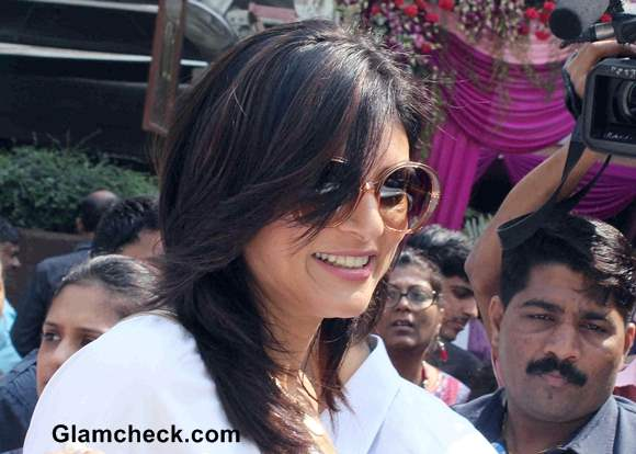 Sushmita Sen at La Piel Skin Clinic Launch