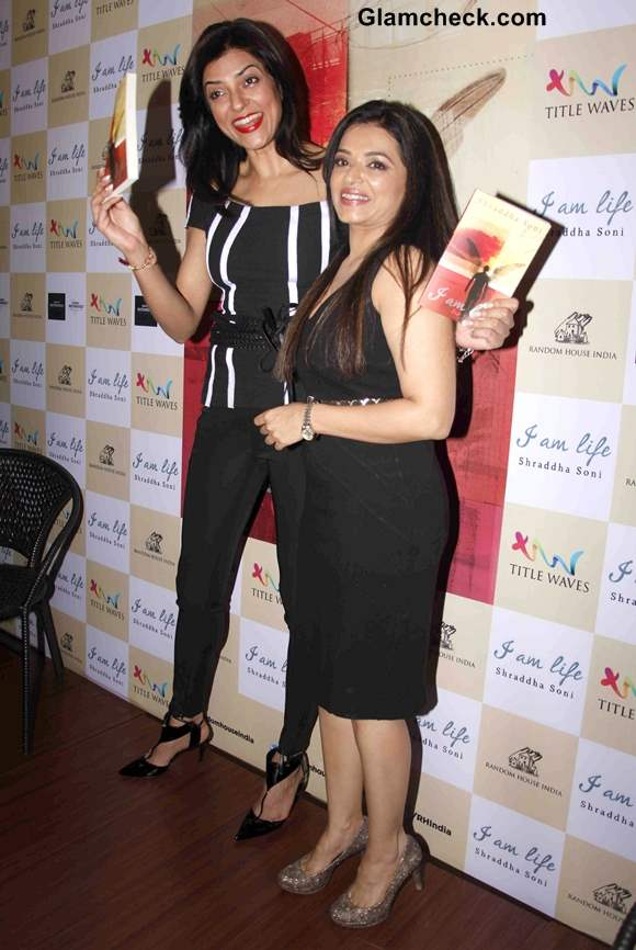 Sushmita Sen at Shraddha Sonis Book I am Life Launch