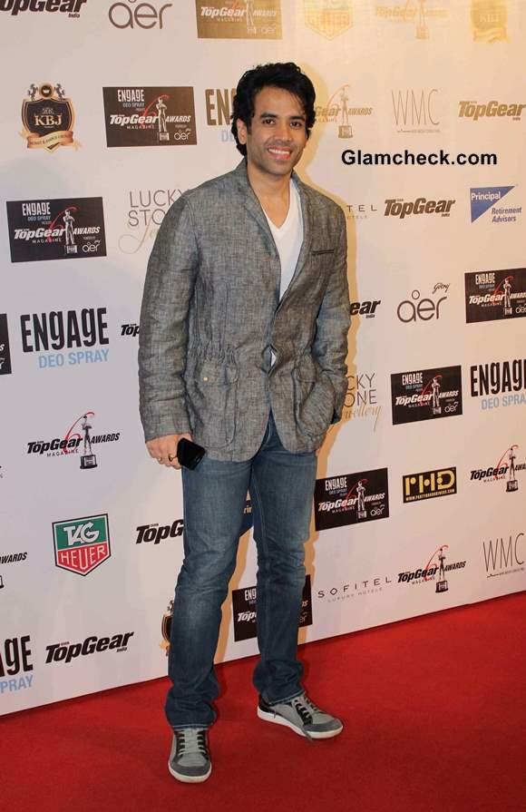 Tusshar Kapoor 2014 at the 6th BBC Top Gear Awards