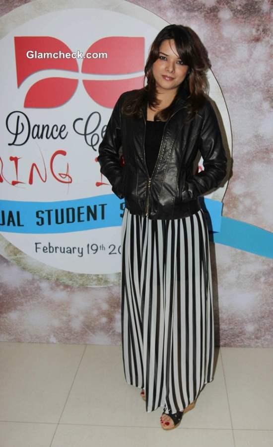Udita Goswami in Monochrome Skirt at Dance Centrals Bring it On