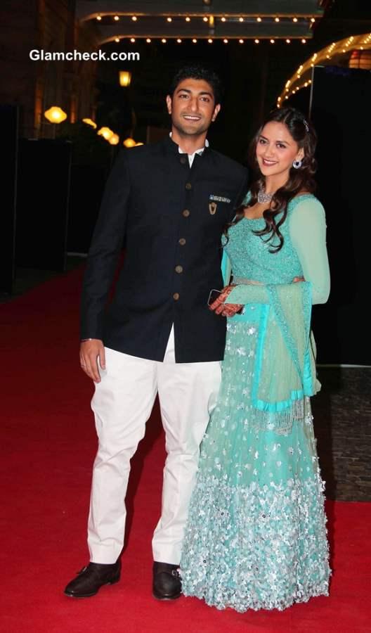 Vaibhav Vohra and Ahana Deol Wedding Pictures- Sangeet