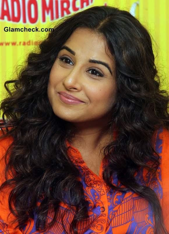 Vidya Balan 2014 curly hair