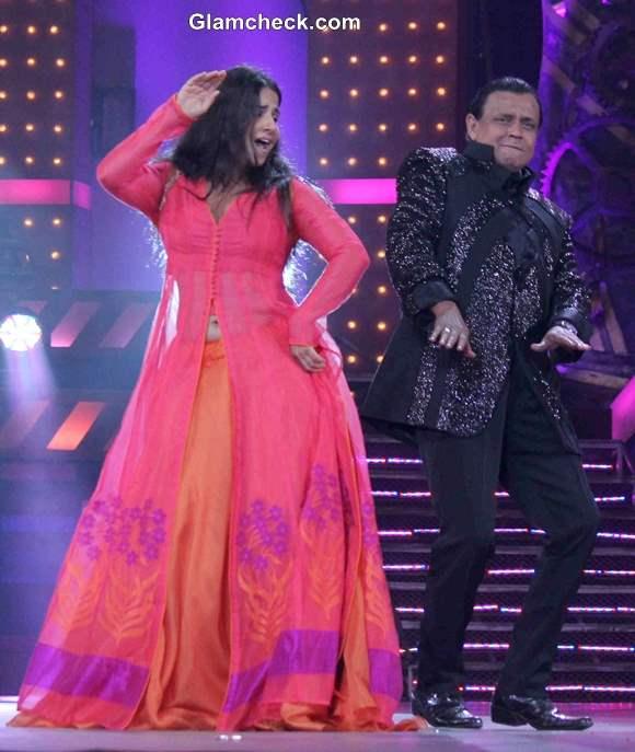 Vidya Balan 2014 on Dance India Dance Season 4 Finale