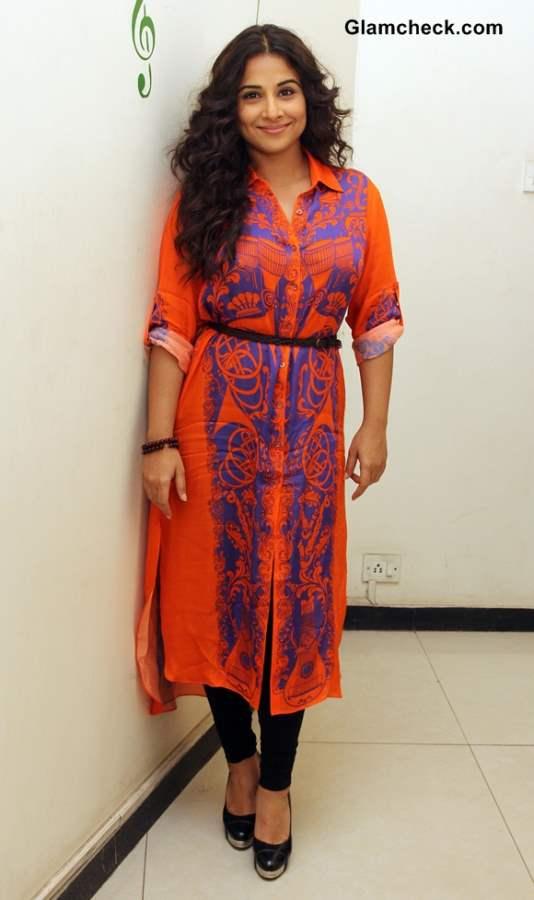 Vidya Balan 2014 style