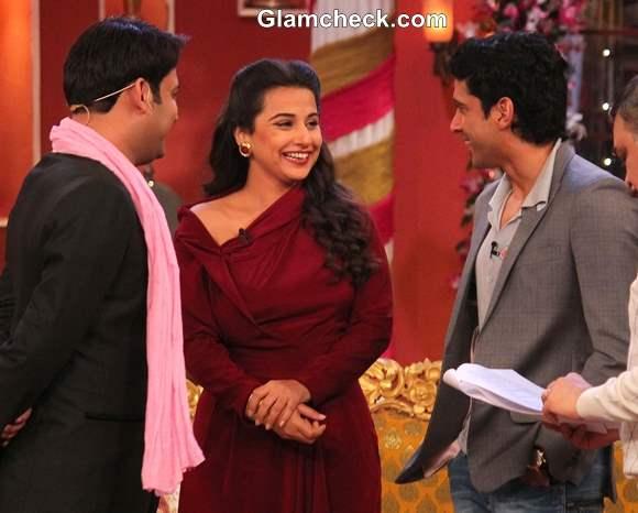Vidya Balan Farhan Akhtar on Comedy Nights with Kapil