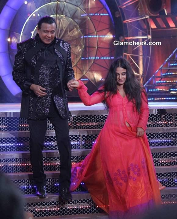 Vidya Balan Promotes Shaadi ke Side Effects on Dance India Dance Season 4 Finale