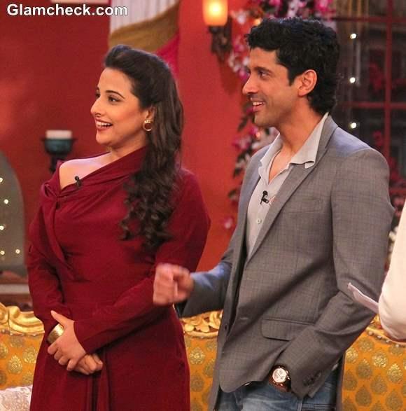 Vidya Balan and Farhan Akhtar on Comedy Nights with Kapil