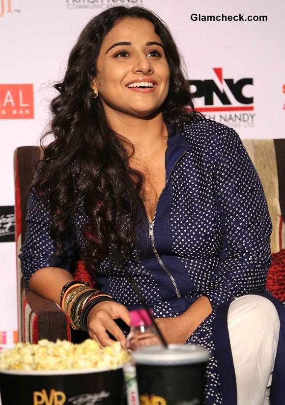 Vidya Balan at Shaadi ke Side Effects Promotions