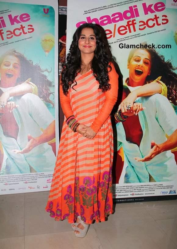 Vidya Balan on Bade Acche Lagte Hain to promote her film Shaadi Ke Side Effects