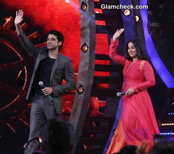Vidya Farhan Promote Shaadi ke Side Effects on Dance India Dance Season 4 Finale