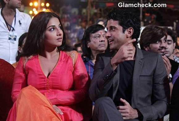 Vidya and Farhan Promote Shaadi ke Side Effects on Dance India Dance Season 4 Finale