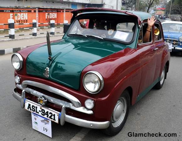Vintage Car Rally 2014 Assam pics
