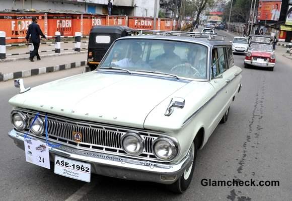 Vintage Car Rally 2014 Assam