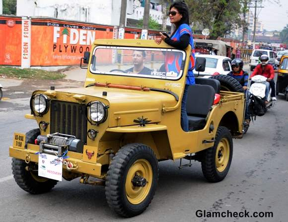 Vintage Car Rally 2014 pictures Assam