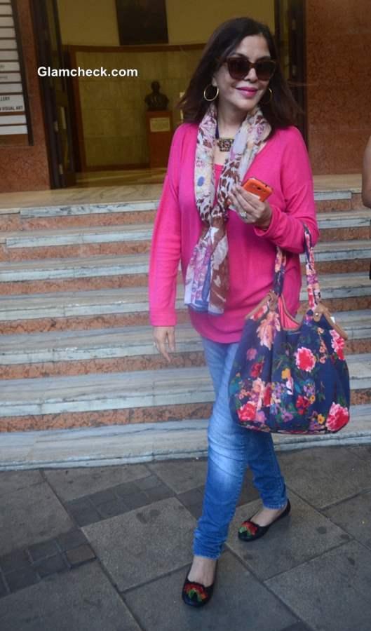 Zeenat Aman Defies Age in Youthful Get-Up