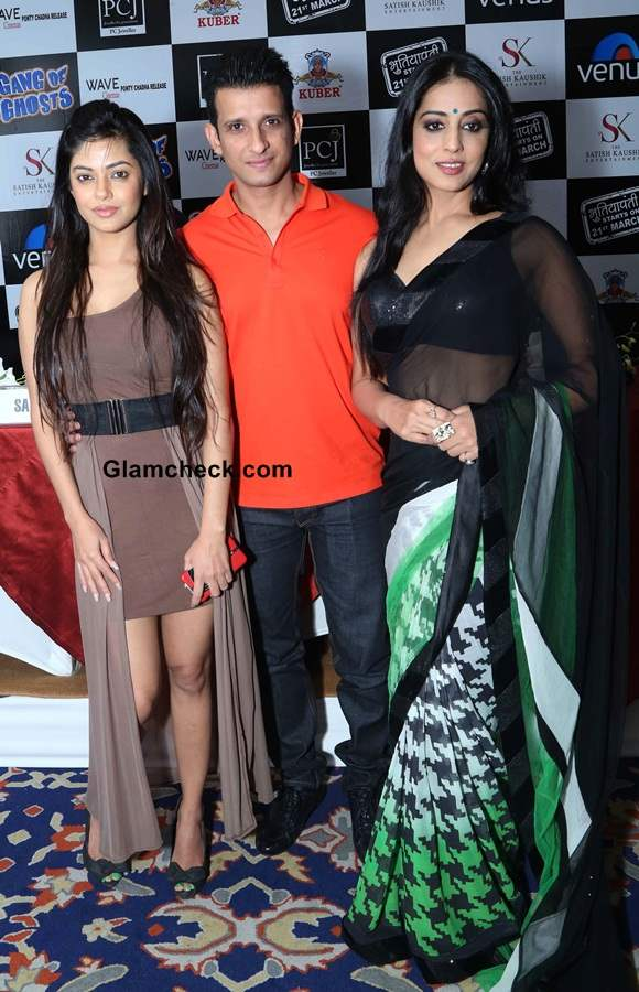 2014 Gang of Ghosts Main Cast Promote Film in Delhi