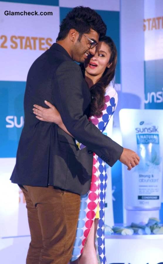 Alia Bhatt and Arjun Kapoor 2014