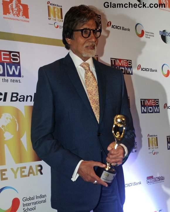 Amitabh Bachchan 2014 India Global Icon Award
