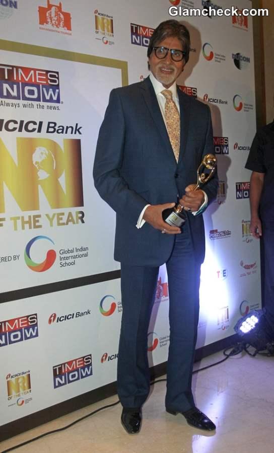 Amitabh Bachchan Bags India Global Icon Award