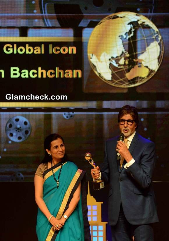 Amitabh Bachchan Bags Indias Global Icon Award