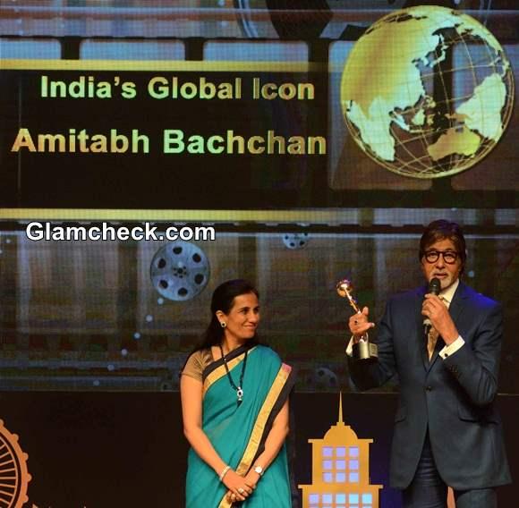Amitabh Bachchan Indias Global Icon Award