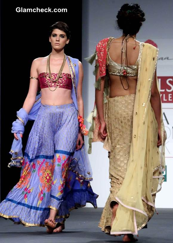 Anupama Dayal A-W 2014 WIFW Collection