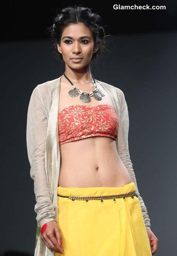 Anupama Dayal A-W 2014 Wills Lifestyle India Fashion Week