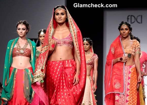 Anupama Dayal Displays Kama at Wills Lifestyle fashion Week A-W 2014
