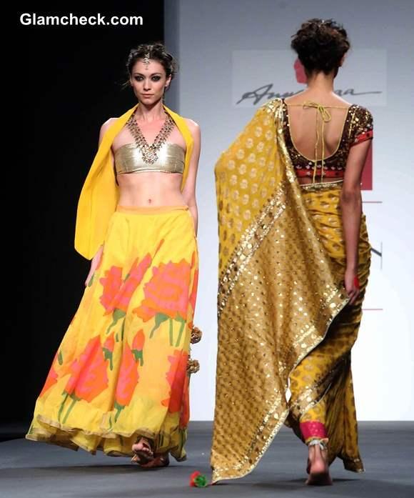 Anupama Dayal at Wills Lifestyle India Fashion Week A-W 2014