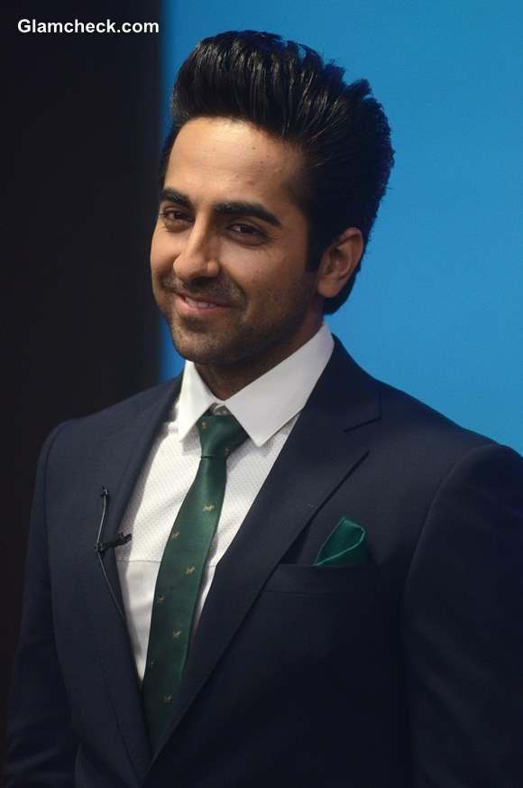 Ayushman Khurana 2014 at Bewakoofiyan Promo