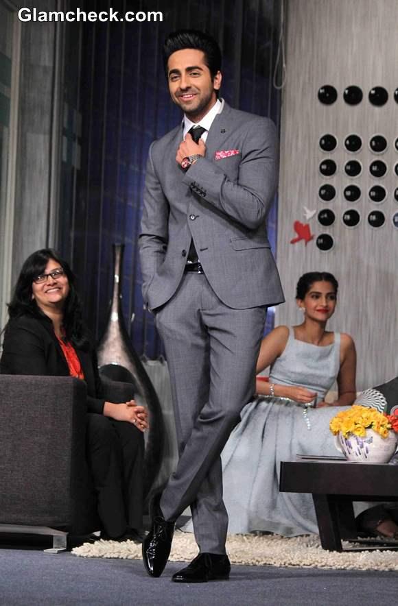 Ayushmann Khurrana Promotes Bewakoofiyan at YRF Get a Job Campaign