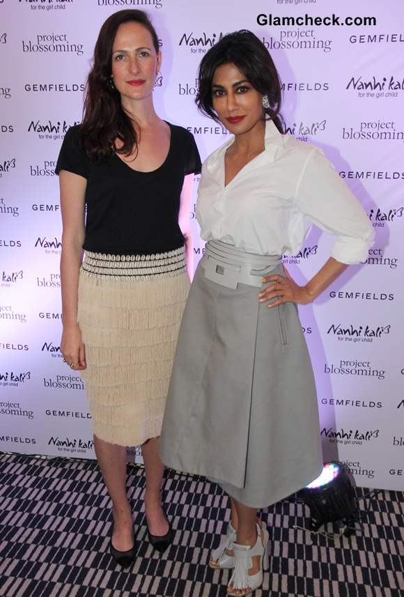 Chitrangda Singh and Anna Haber, Global marketing director Gemfields PLC