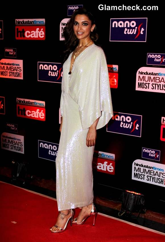 Deepika Padukone at Hindustan Times Most Stylish Awards 2014