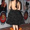 Dia Mirza 2014 Backless Black Dress at Vasu Bhagnanis 25th Movie Celebration