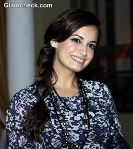 Get Dia Mirza's Side Braid and Natural Makeup Look