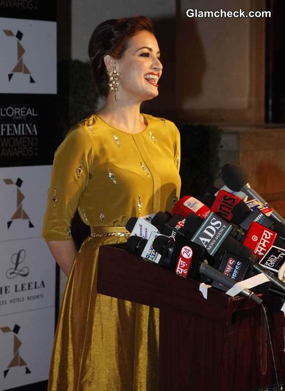 Dia Mirza at 2014 LOreal Paris Femina Women Awards