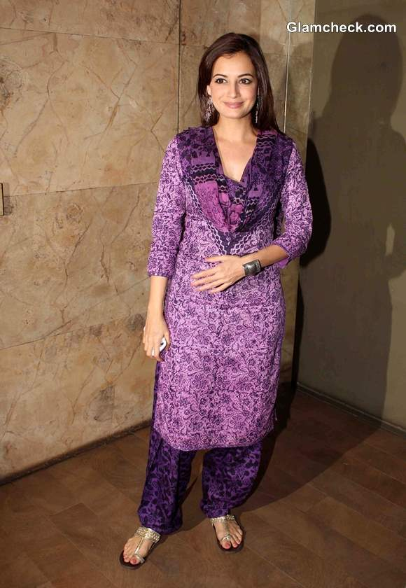 Dia Mirza at Special Screening of Queen