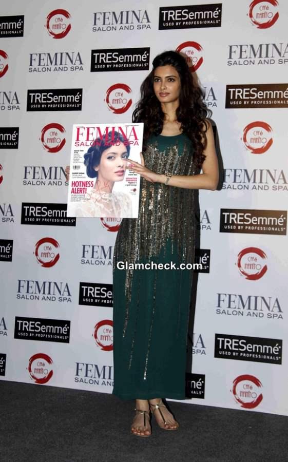 Diana Penty at Femina Salon and Spa Magazine Cover Launch