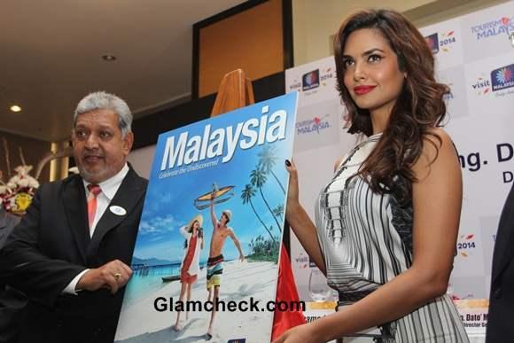 Esha Gupta 2014 Promotes Malaysia Tourism