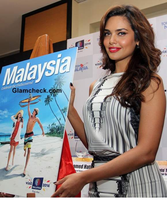 Esha Gupta 2014 Promoting Malaysia Tourism