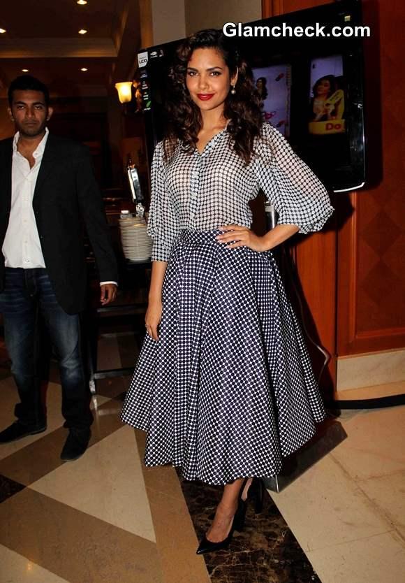 Esha Gupta 2014 Vasu Bhagnanis 25th Movie Celebration