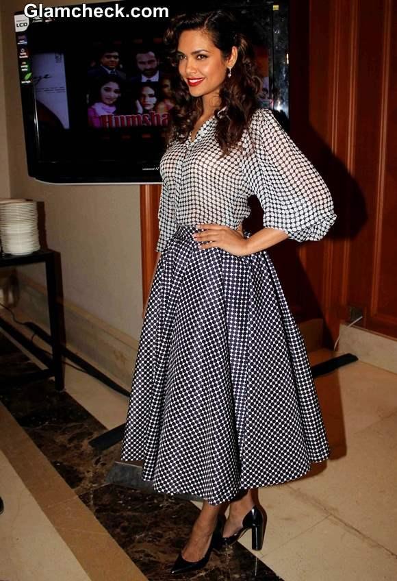 Esha Gupta 2014 at Vasu Bhagnanis 25th Movie Celebration