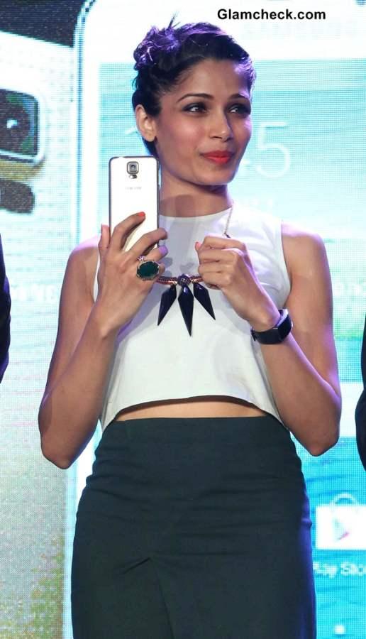 Freida Pinto 2014 at at Samsung 5 Launch