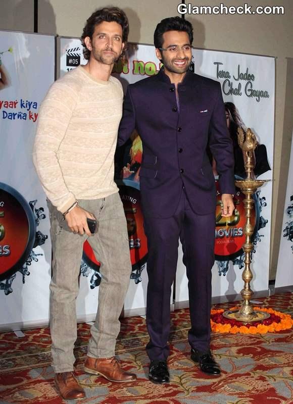 Jackky Bhagnani and Hrithik Roshan