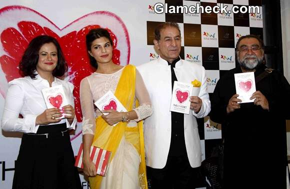 Jacqueline Fernandez at The Love Diet Book Launch