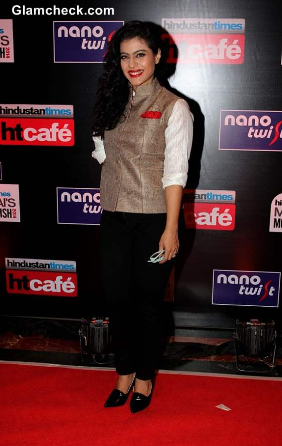 Kajol 2014 Hindustan Times Most Stylish Awards