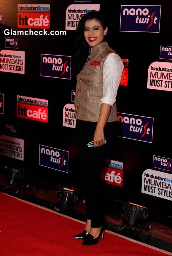 Kajol 2014 at Hindustan Times Most Stylish Awards