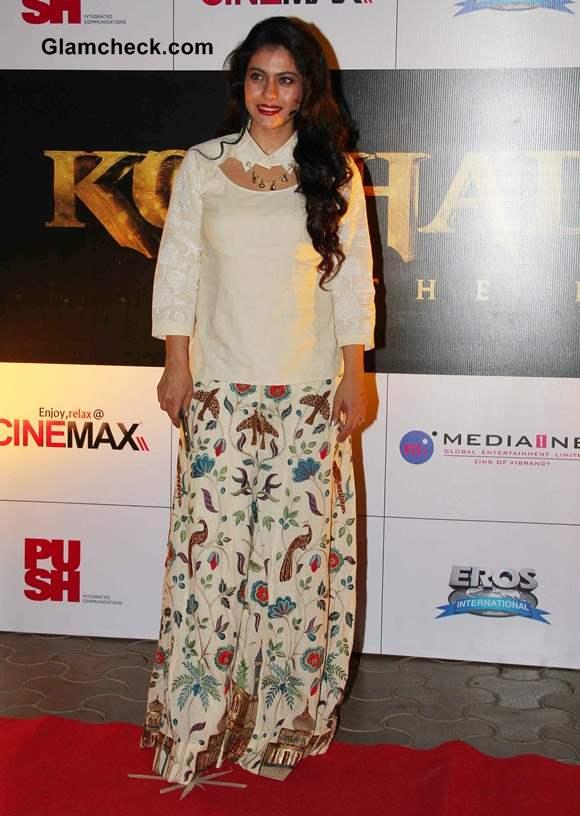 Kajol at Kochadaiiyaan Trailer Launch