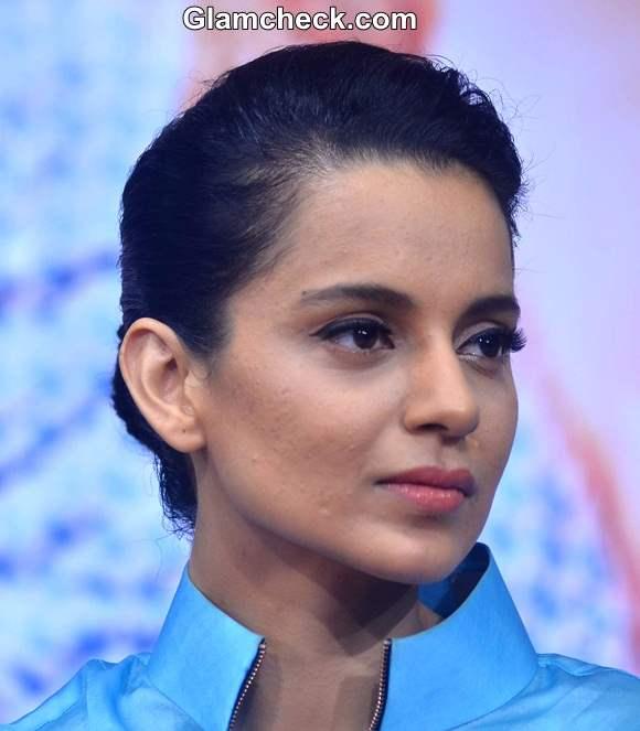 Kangana Ranaut 2014 Hairstyle