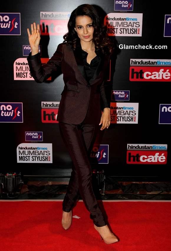 Kangana Ranaut 2014 Hindustan Times Most Stylish Awards